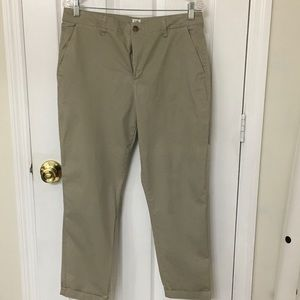 Gap chino ankle pants